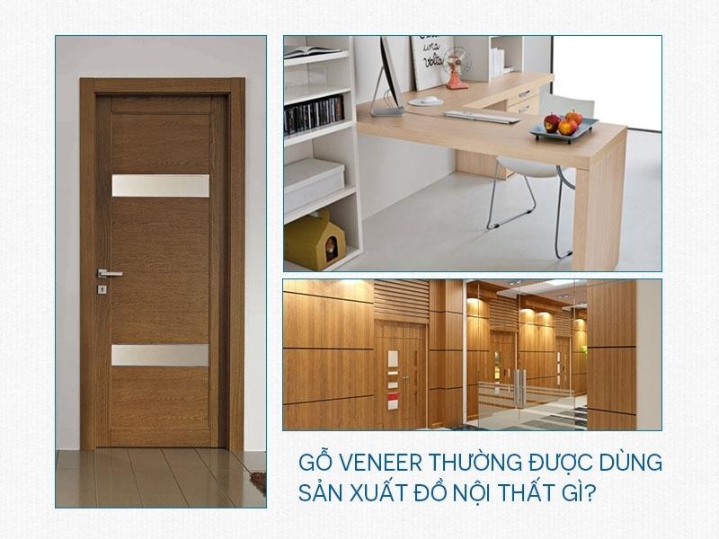 Những đồ nội thất được làm từ Veneer