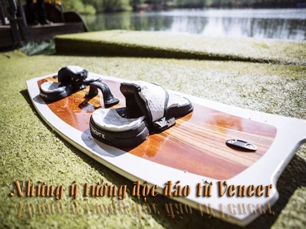 Những ý tưởng độc đáo từ Veneer