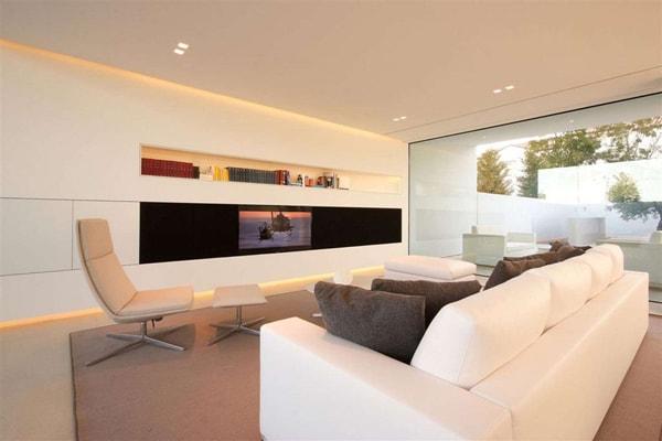 6 loại kệ trang trí phòng khách phổ biến nhất hiện nay
