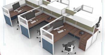 Vách ngăn văn phòng là gì? Cấu tạo và chất liệu vách văn phòng