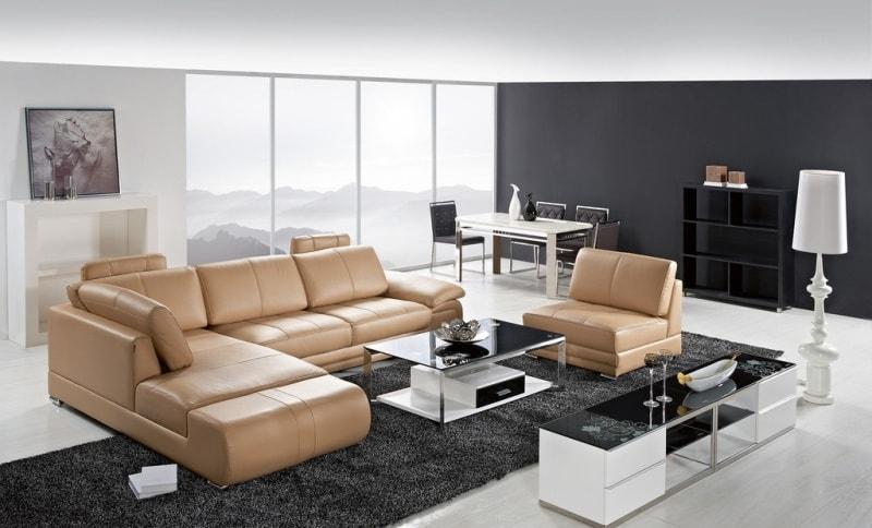 Bài trí sofa phòng khách hợp phong thủy
