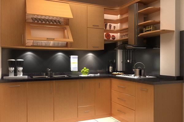 Đặc điểm của tủ bếp gỗ Veneer
