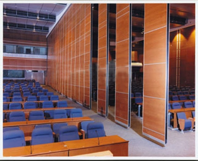 Gỗ Veneer trong thiết kế nội thất hội trường