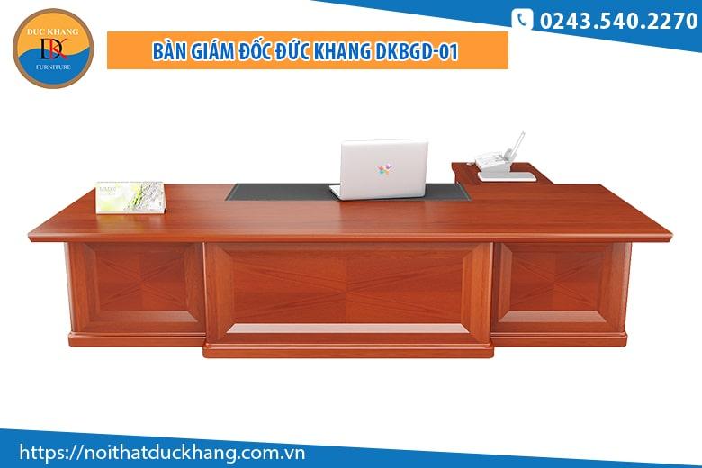 Bàn giám đốc Đức Khang DKBGD-01 màu cánh gián