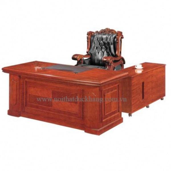 Bàn, tủ, hộc dành cho lãnh đạo làm từ gỗ Veneer