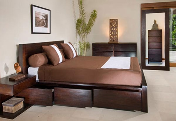 5 gợi ý bài trí phòng ngủ ấn tượng và tiện nghi