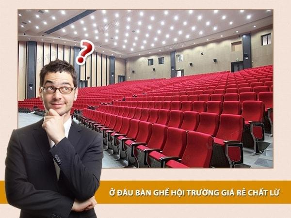 Những mẫu ghế hội trường giá rẻ được chọn nhiều nhất