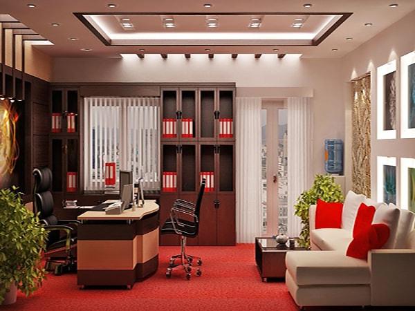 Xu hướng chọn tủ văn phòng theo thiết kế nội thất hiện đại