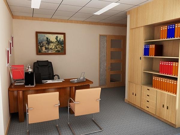 Tủ tài liệu phòng giám đốc có nên dùng gỗ Veneer?