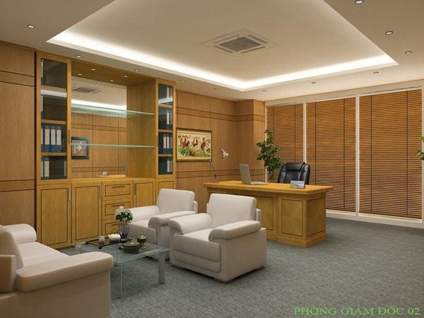 Tủ tài liệu gỗ Veneer phù hợp với nội thất phòng giám đốc không?