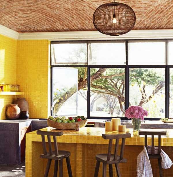 Bí quyết phối màu cho nội thất gia đình ấn tượng khi thu về