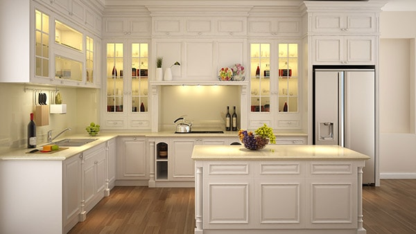 Cách chọn nội thất gỗ phòng bếp