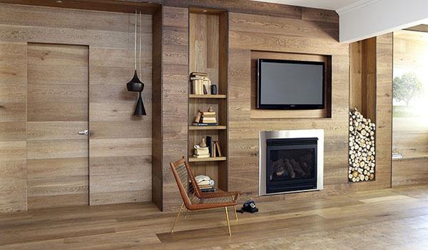 Cách chọn gỗ ốp tường, cầu thang
