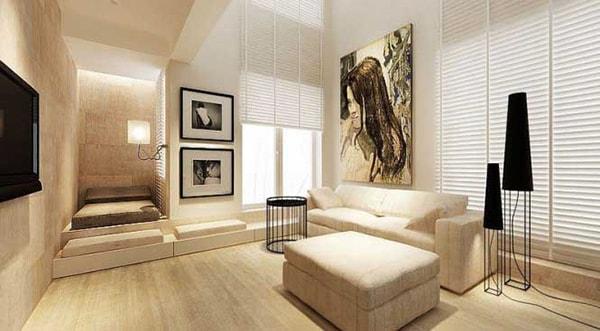 Ưu điểm thiết kế nội thất tối giản
