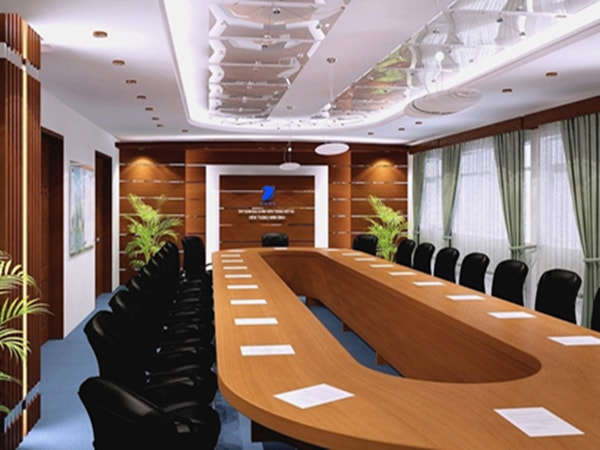 Bàn họp Veneer – lựa chọn lý tưởng cho phòng họp cao cấp