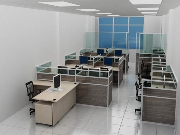 Nên chọn vách ngăn văn phòng bằng gỗ hay bằng nỉ?