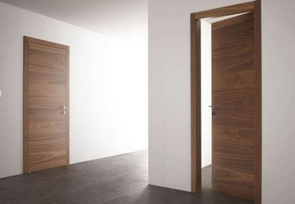 Cửa gỗ Veneer giữ được vẻ đẹp của gỗ tự nhiên