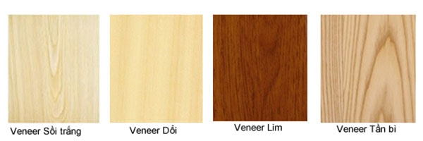 Một số loại gỗ Veneer