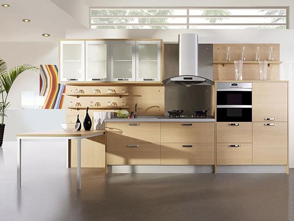 Nhược điểm của tủ bếp gỗ Veneer