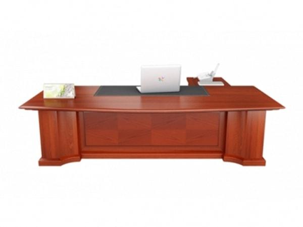 Thiết kế đẹp của bàn giám đốc Veneer DKBGD02