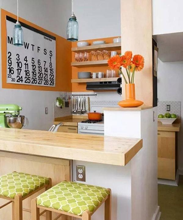 Phòng bếp hiện đại, trẻ trung