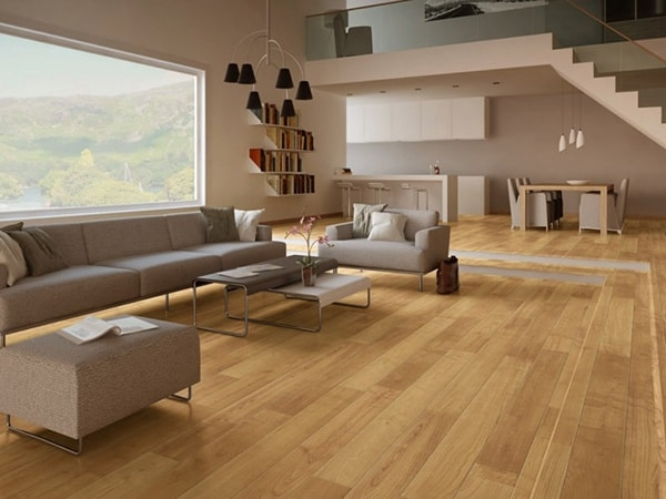 Cách chọn và lắp đặt sàn gỗ phòng khách