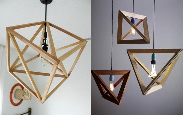 Đèn khối hình học