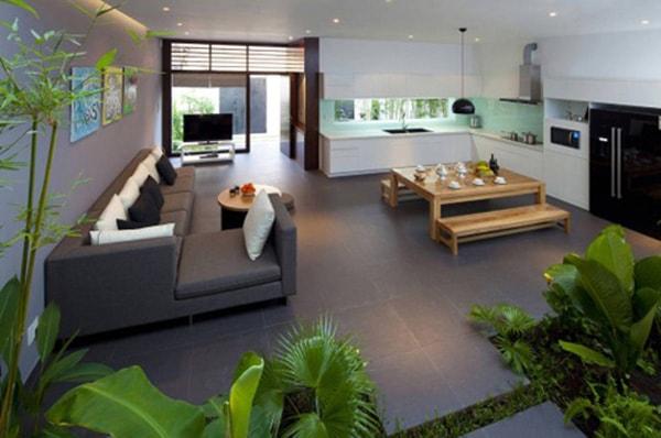 Thiết kế nội thất nhà ở kiểu Nhật đem thiên nhiên vào nhà