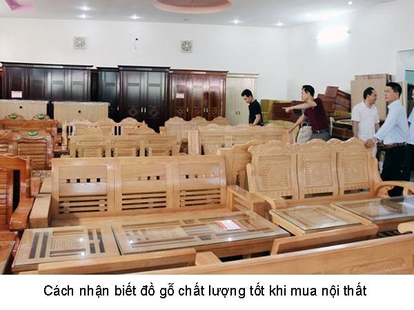 Cách nhận biết đồ gỗ chất lượng tốt khi mua nội thất