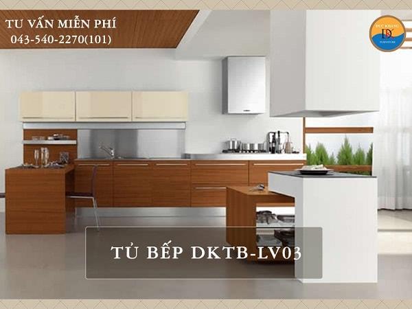 Tủ bếp Veneer DKTB-LV03