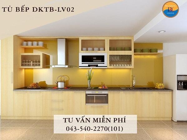 Tủ bếp Veneer DKTB-LV02