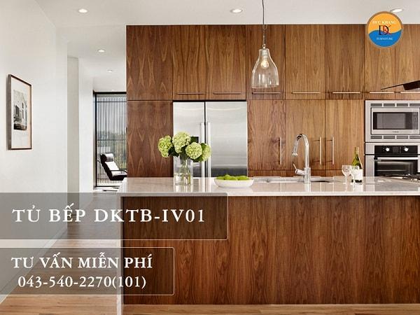 Tủ bếp Veneer DKTB-IV01
