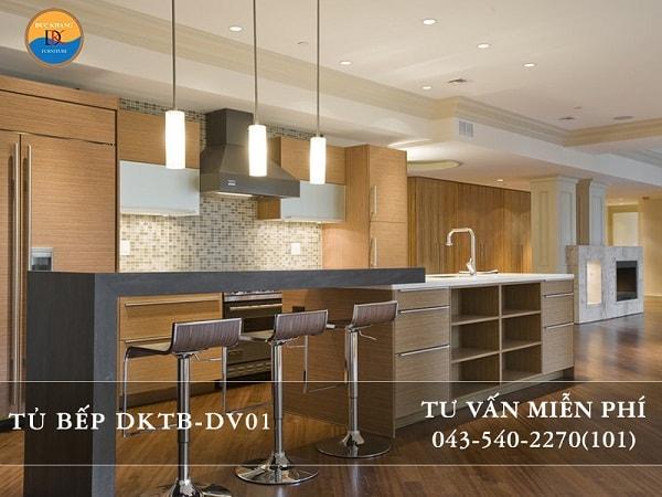 Tủ bếp Veneer DKTB-DV01