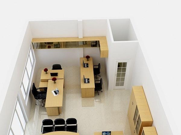 Cách chọn và bài trí bàn làm việc cho văn phòng nhỏ hẹp