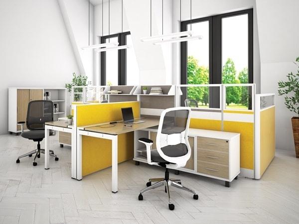 Làm mới không gian văn phòng với sản phẩm - Vách ngăn N45-01