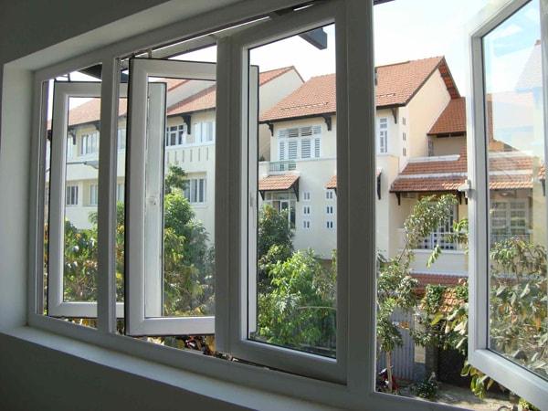 Không nên có quá nhiều cửa sổ