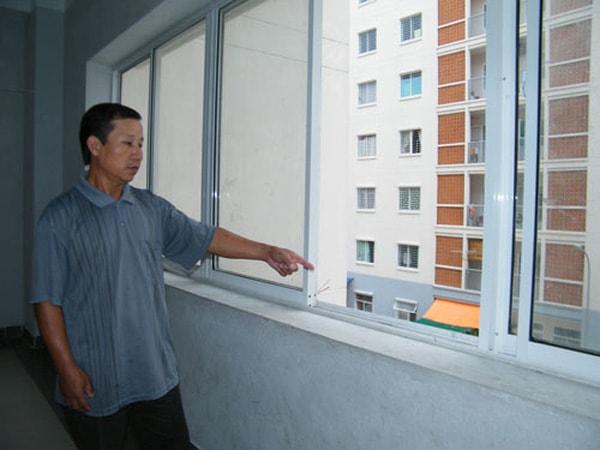 Cửa sổ không nên có vật cản che khuất