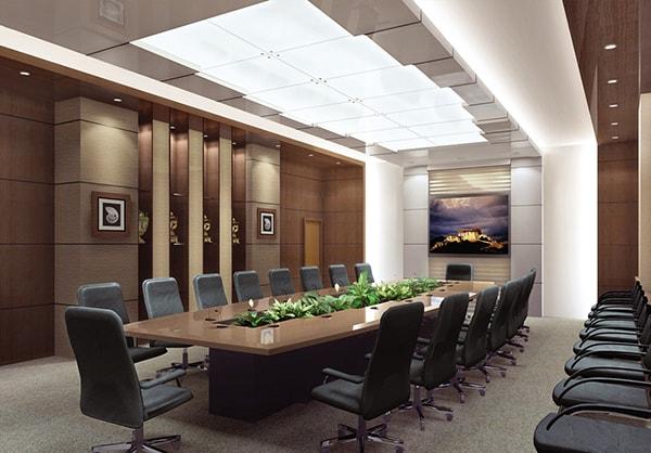 Vị trí của phòng họp ảnh hưởng khá nhiều đến tỉ lệ thành công của cuộc họp và tài vận của cả công ty