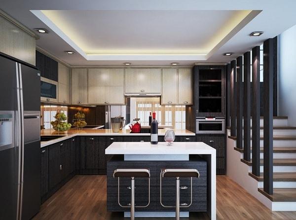 Phòng bếp cần hợp phong thủy để đem lại may mắn cho gia chủ