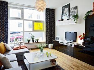 bố trí căn hộ chung cư 80m2 1