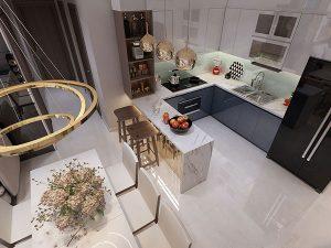 bố trí căn hộ chung cư 80m2 3