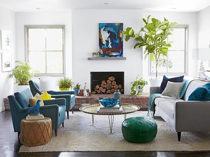 Lưu ý khi đặt cây trong phòng khách dành cho mệnh Thổ