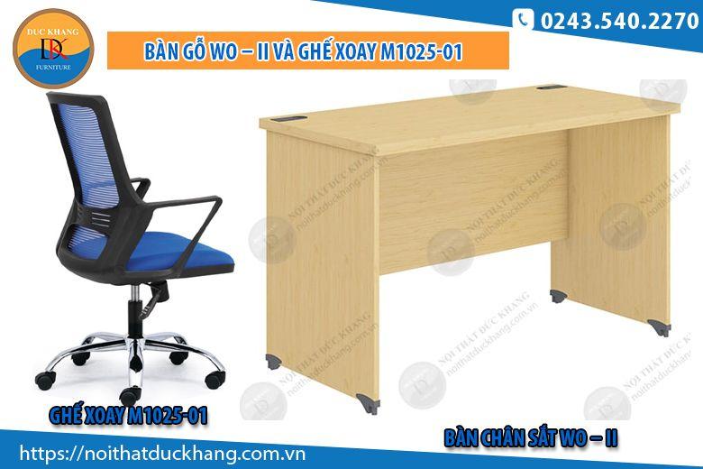 Bàn Wo-II và ghế M1025-01