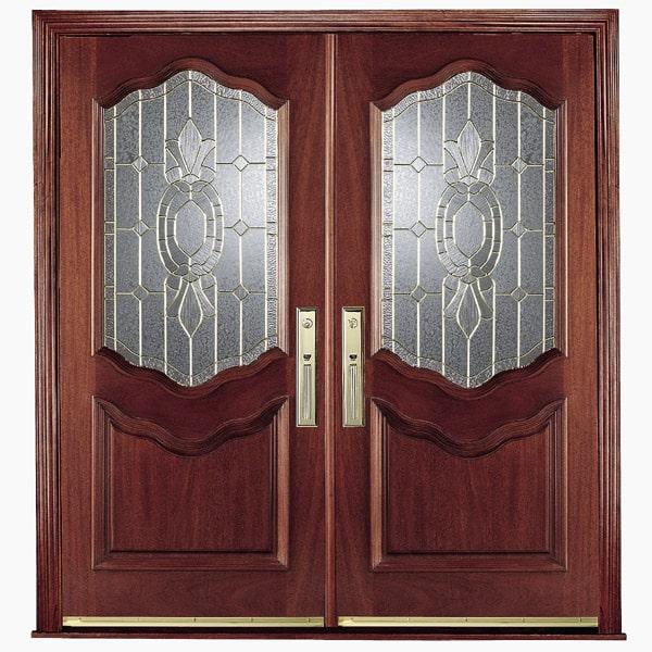 Tại sao nên sử dụng mẫu cửa gỗ 2 cánh lớn?