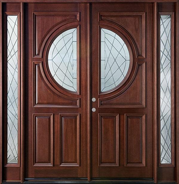 Lựa chọn chất liệu cửa gỗ 2 cánh