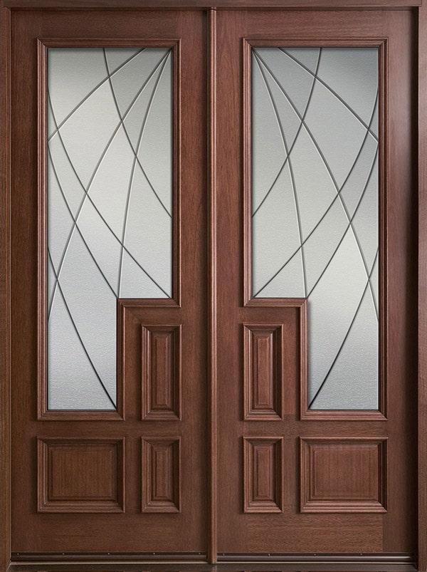 Các kiểu cửa gỗ đẹp 2 cánh hiện nay