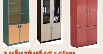 Nên chọn mẫu tủ hồ sơ 4 cánh nào cho văn phòng diện tích nhỏ?