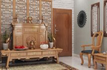 Phòng ngủ cạnh phòng thờ - điều kiêng kỵ trong phong thủy