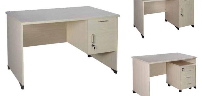 Những mẫu bàn làm việc 1m2 cho văn phòng đẹp năm 2020