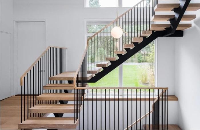 Cầu thang phong cách hiện đại